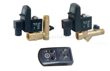 Drainer отметчика времени латуни 16bar 5mm автоматический с фильтром стрейнера и клапаном дренажа